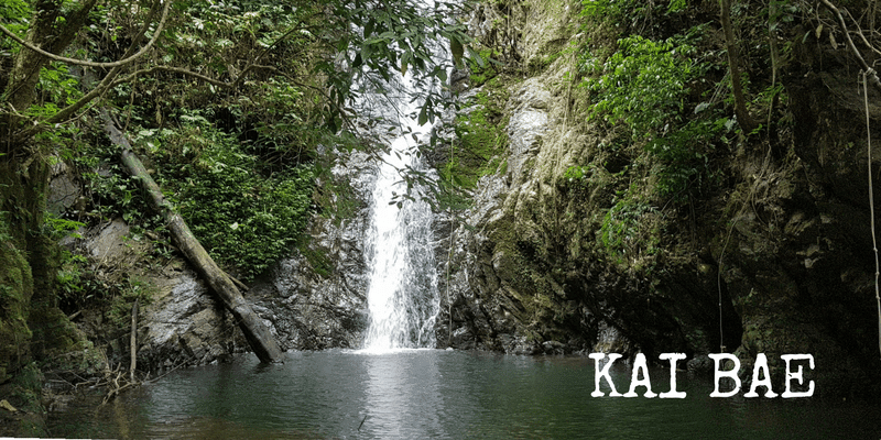 Kai Bae waterfall, Koh Chang
