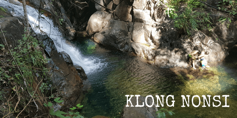 Klong Nonsi Waterfall, Dan Mai, Koh Chang