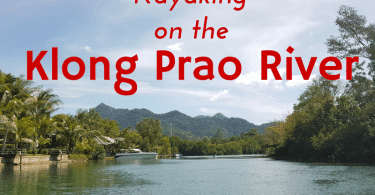 explore the Klong Prao river estuary by canoe