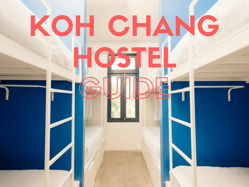 Budget accommodation and hostels on Koh Chang