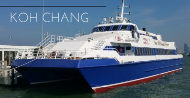 Passenger ferry from Pattaya to Koh Chang