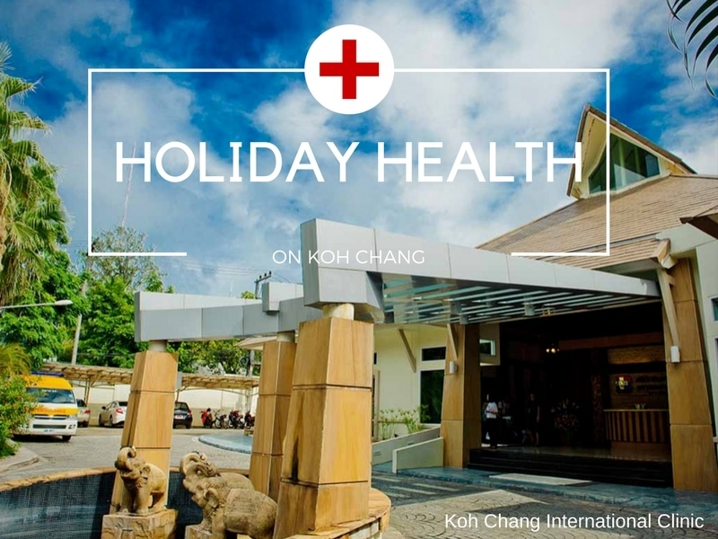 Koh Chang International clinic - private hospital.