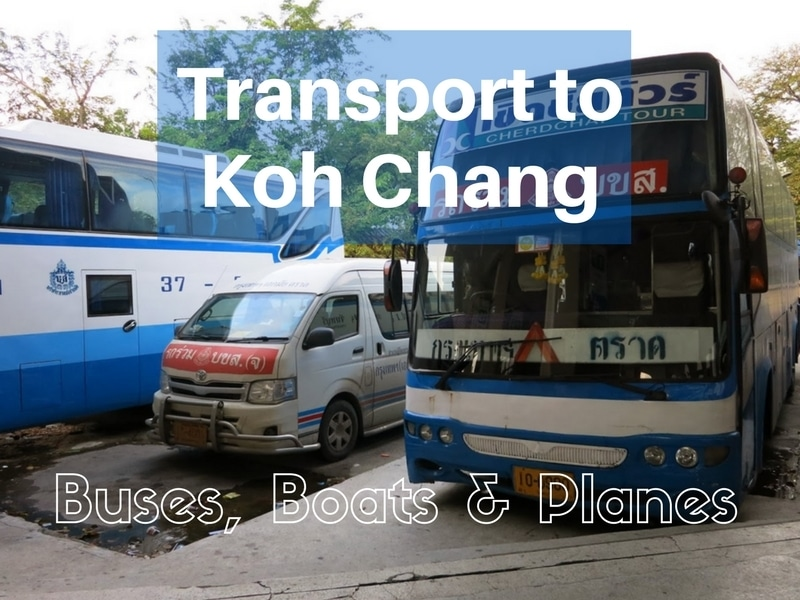 Buses and minibus to Koh Chang at Ekamai bus station