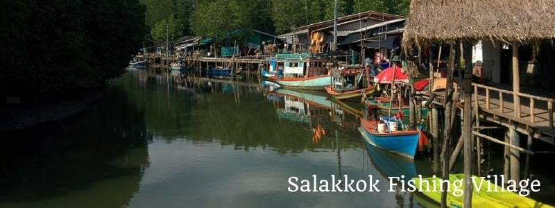 Salakkok fishing village