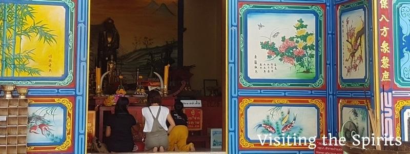 Chinese Shrine , Klong Son, Koh Chang