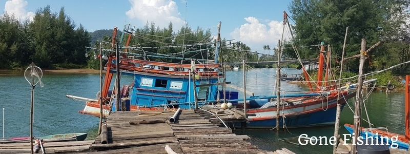 Fishing Boat in Klong Son