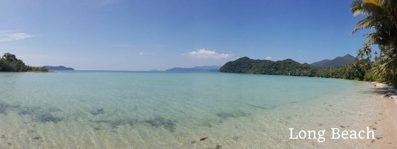 Long beach, Salakphet, Koh Chang