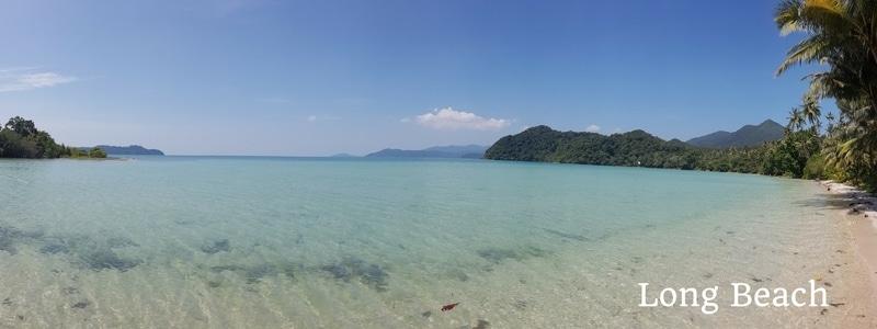 Long beach, Salakphet, Koh Chang