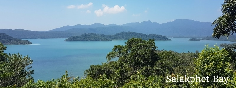 View across Salakphet Bay