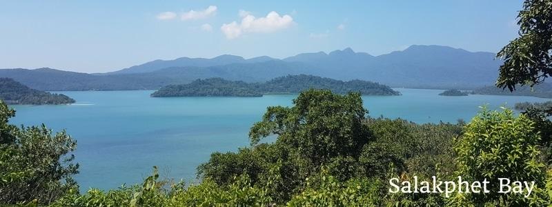 View across Salakphet Bay