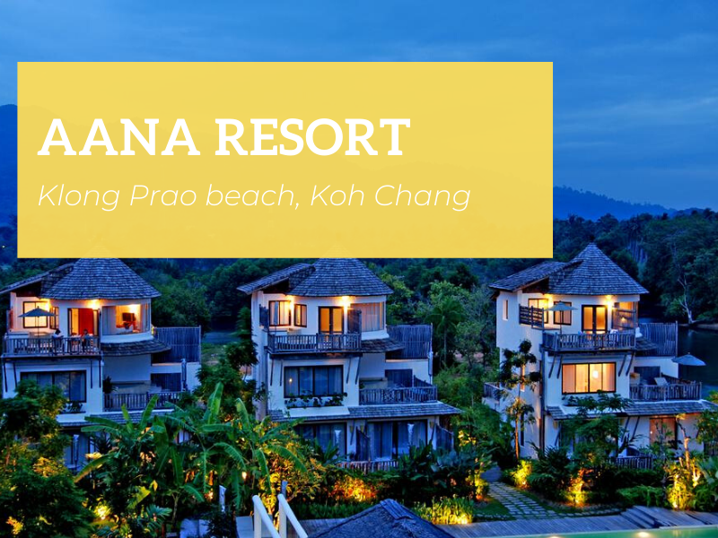 Aana Resort & Spa, Koh Chang