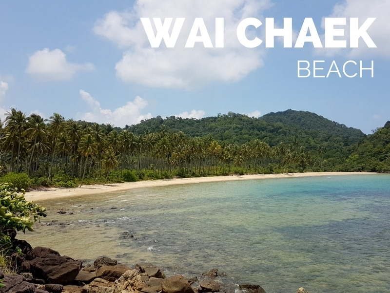 Wai Chaek beach on the south coast of Koh Chang, Thailand