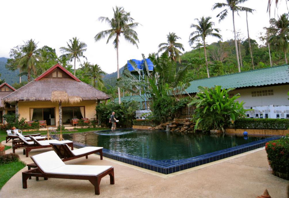 Pool at Garden Resort, Koh Chang