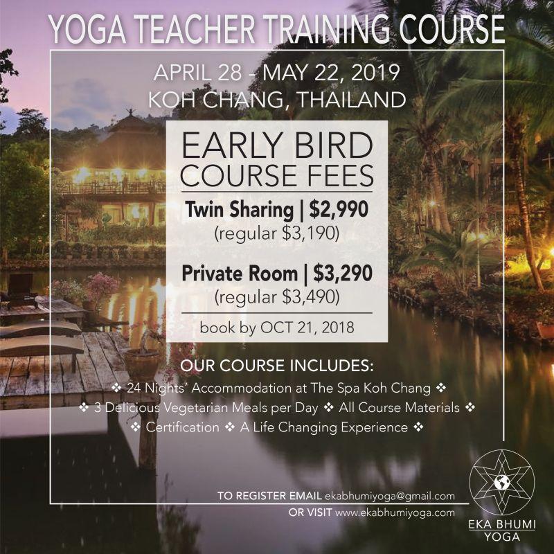 Yoga teaching course on Koh Chang