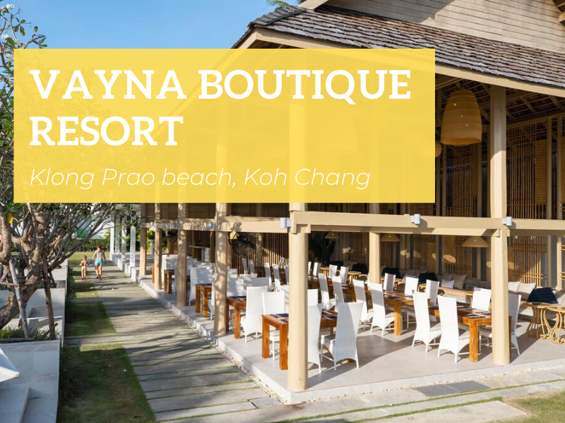Vayna Boutique Resort, Klong Prao beach