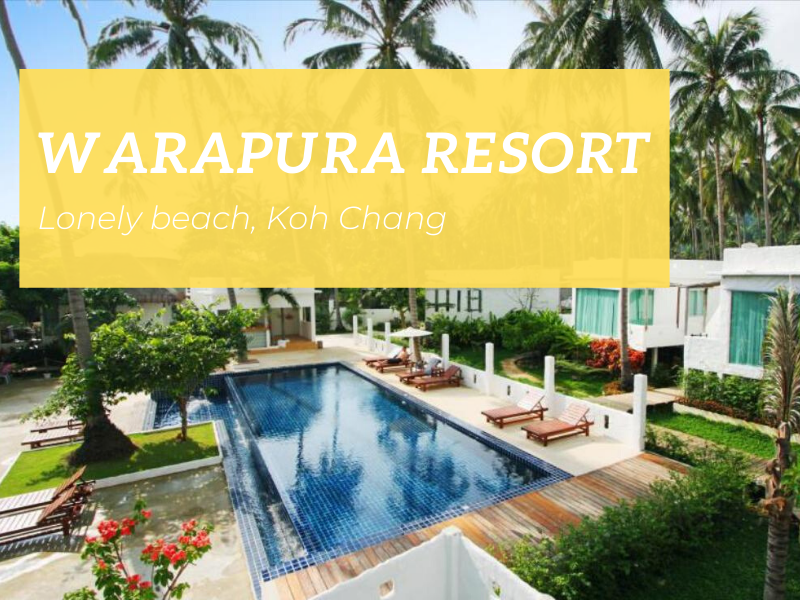 Warapura Resort, Lonely beach, Koh Chang