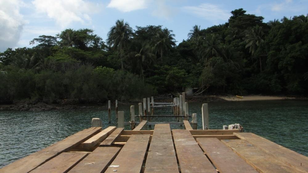 Pier at Laoya Island, Koh Chang