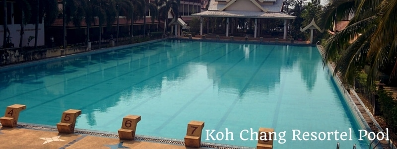 Swimming pool at Koh Chang Resortel