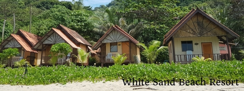 Bungalows at White Sand Beach Resort, Koh Chang