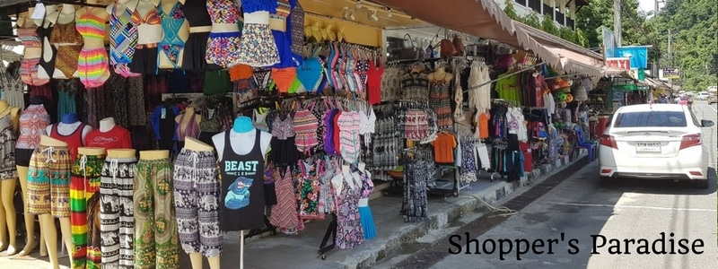 Beachwear for sale on White Sand beach, Koh Chang