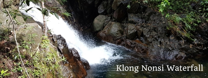 Klong Nonsi waterfall