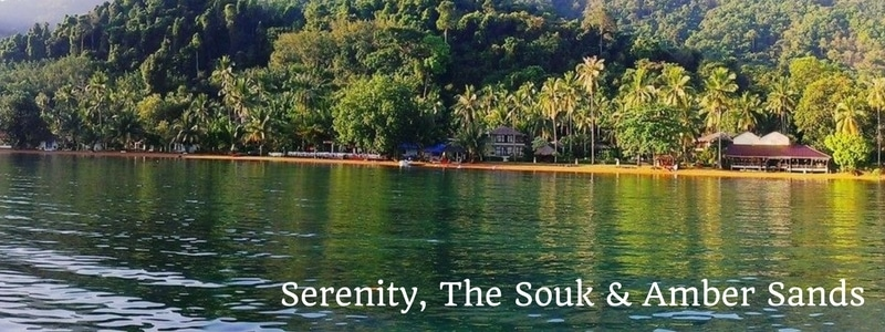 Serenity Resort, The Souk and Amber Sands Beach Resort