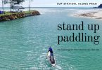 Stand up paddling on Klong Prao beach, Koh Chang