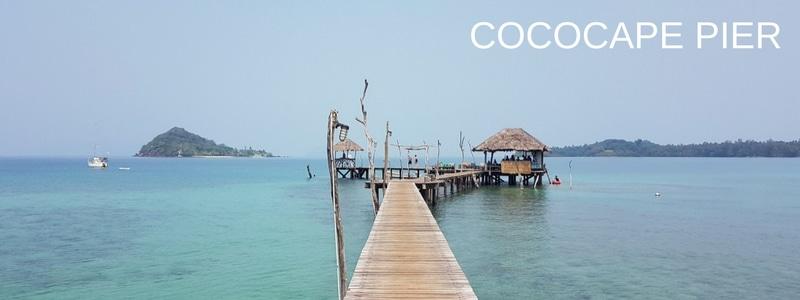 Koh Mak Cococape pier