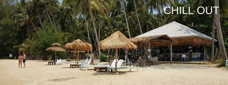 Koh Mak beach bar