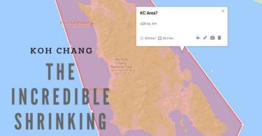 How big is Koh Chang?