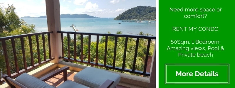 Condo for rent on Koh Chang