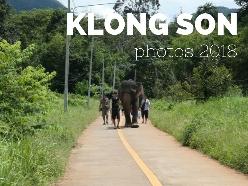 Photos of Klong Son village, Koh Chang