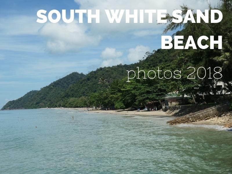 South white sand beach