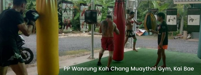 Thai boxing in Kai Bae, Koh Chang