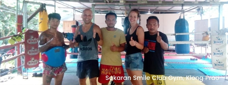 Thai boxing in Klong Prao, Koh Chang