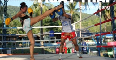 Muay Thai Boxing on Koh Chang