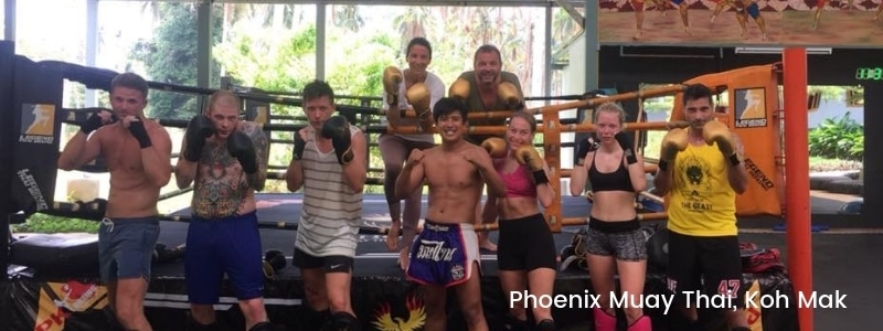 Thai boxing on Koh Mak