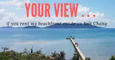 Beachfront apartment for rent on Koh Chang