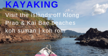 sea kayaking Klong Prao and Kai Bae beaches