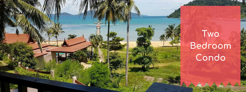 two bed condo on Airbnb, Ko Chang