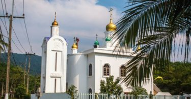 The Russian Orthodox Church in Klong Son, Koh Chang