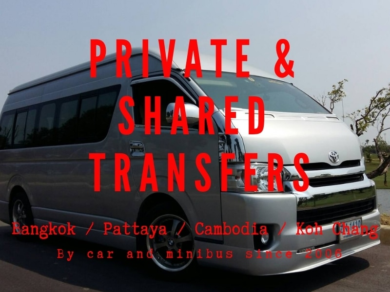 Private or Shared Minibus service from Bangkok to koh Chang