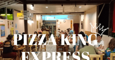 Koh Chang's best pizza at Pizza King Express