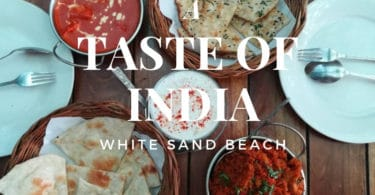 Authentic Indian food at Taste of India restaurant, Koh Chang