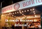 The entrance of Barrio Bonito mexican restaurant in Kai Bae, Koh Chang