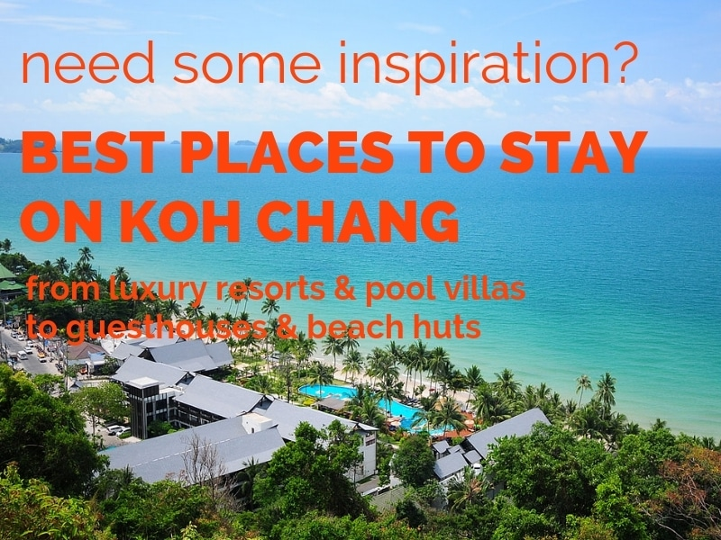 Best accommodation on Koh Chang. Resorts, villas, guesthouses and huts