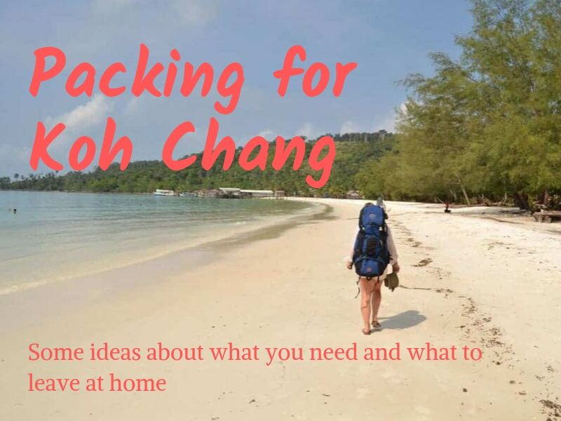 What to pack for a holiday on Koh Chang