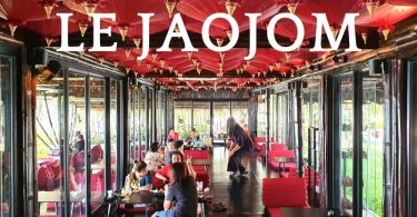 Le Jaojom Bistro, cafe and bar
