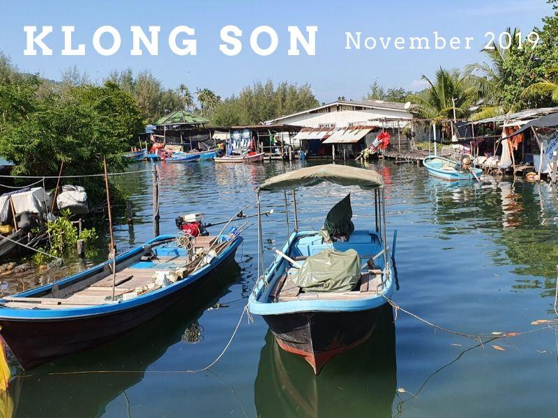 Klong Son fishing village 2019
