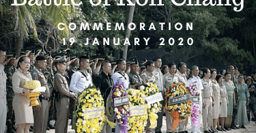 Battle of Koh Chang Commemoration 2020